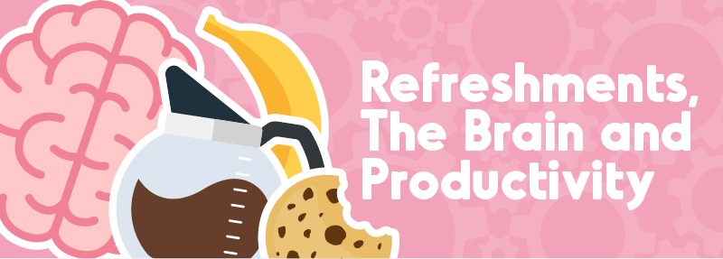 refreshments, the brain and productivity